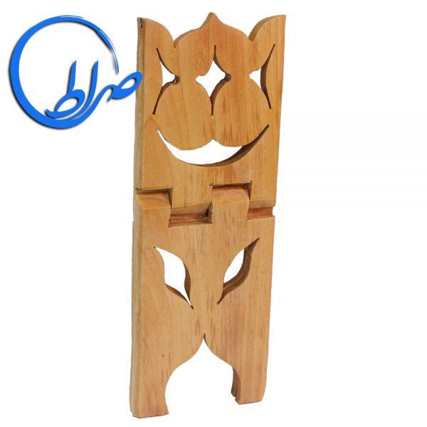رحل چوبی طرح لاله بلند