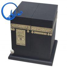 قرآن نفیس طرح کعبه معطر چرم طبیعی