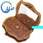 قرآن نفیس چرم طبیعی آینه دار