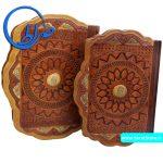 قرآن نفیس جعبه دار طرح صدف
