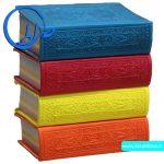 قرآن نیم جیبی چاپ بیروت در 4 رنگ متفاوت و زیبا