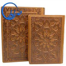 قرآن نفیس معطر جلد برجسته ترجمه الهی قمشه ای